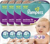 Pampers Active Fit Mid Pack Maxi+ - 4x24stuks