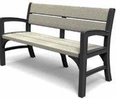 Keter - Montero - Kunststof WLF - Bench 3 seater - 3-zits - Grafiet