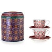 Images D'Orient POR-922052 kopje Multi kleuren Koffie 2 stuk(s)