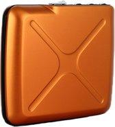 Ogon Designs Code Wallet - Aluminium Creditcardhouder - Oranje