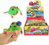 Toi-toys Squeezy Frog Junior 8 Cm Groen/oranje