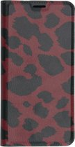 Design Softcase Booktype Samsung Galaxy A50 / A30s hoesje - Panter Rood