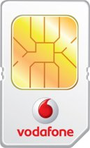 Vodafone Simkaart 2in1 incl. 10 euro beltegoed en 1 GB data