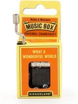 Nostalgisch Muziekdoosje What A Wonderful World