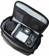 Cameratas voor Spiegelreflex Camera Met Regenhoes - Fototas - Grijs