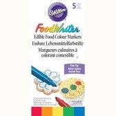 Wilton EU Eetbare stiften primaire kleuren pk/5