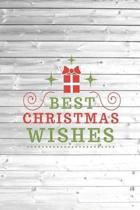 Best Christmas Wishes - Present Journal