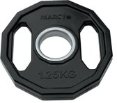 Marcy Olympische Halterschijven - 2 x 1.25 kg - Ø 30 mm