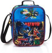 Batman Lunchtas Schoudertasje Kinderen Blauw Zwart