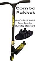 Black Dragon Stuntstep Combo Pakket Lime