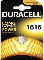 1 Stuk Duracell CR1616 lithium batterij