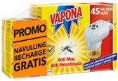 VAPONA Anti Mug Stekker Promo Bundel: stekker + 1x navul
