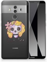 Huawei Mate 10 Pro Uniek TPU Hoesje Boho Skull