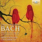J.C. Bach: Sonatas For Harpsichord And Violin