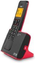 SPC 7290R DECT-telefoon Nummerherkenning Zwart, Rood telefoon