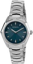 Breil TW1701 horloge dames - zilver - edelstaal