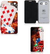 Samsung Galaxy Grand Prime Wallet Case met Pasjes Casino