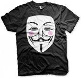 Fun t-shirt V for Vendetta heren XXL