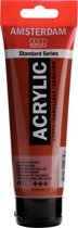 Amsterdam Standard acrylverf tube 120ml - Sienna gebrand - halftransparant