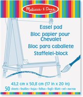 Melissa & Doug - Easel Pad - 43.2 X 50.8CM