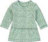 Noppies Meisjes Jurk met all over print Pomona - Bird's Egg Green - Maat 56