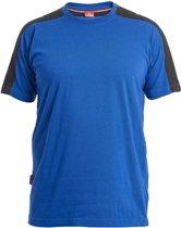 F. Engel 9810-141 T-Shirt Blauw/Zwart maat L