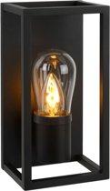 Lucide CARLYN - Wandlamp Badkamer - E14 - IP54 - Zwart