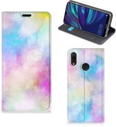 Bookcase Huawei Y7 hoesje Y7 Pro (2019) Watercolor Light