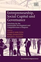Entrepreneurship, Social Capital and Governance
