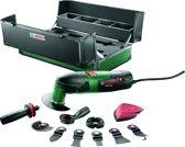 Bosch PMF 220 CE Multitool toolbox Oscillerend 220 Watt Inclusief 12 accessoires en stevige koffer