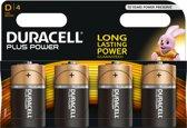 Duracell D PLUS batterij - 4 stuks