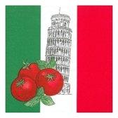 Italie servetten 50 stuks