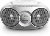 Philips AZ215S - Radio/CD-speler - Grijs
