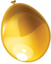 Ballonnen metallic goud (30cm, 50st)
