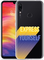Xiaomi Redmi Note 7 Hoesje Express Yourself