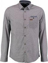 Pme legend grijsblauw overhemd lange mouw - Maat XXL