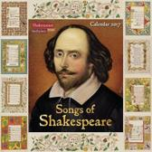 Shakespeare Birthplace Trust - Songs of Shakespeare Wall Calendar 2017
