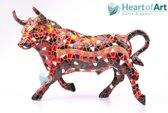Gaudi Mozaïek: Stier in 5 groottes: Materiaal: Polyresin: Beelden & Figuren