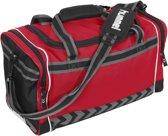 hummel Shelton Elite Bag  Sporttas - Zwart;Rood;Grijs - Maat