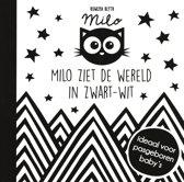 Boek cover Baby Ziet... - Milo ziet de wereld in zwart wit van Rowena Blyth (Hardcover)