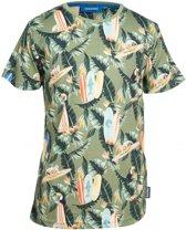 Someone Jongens t-shirts & polos Someone T-shirt khaki 122