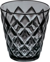 Koziol CRYSTAL S Drinkglas 200ml transparent grey