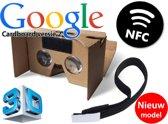 De nieuwste versie van de (Google) cardboard V2 inclusief hoofdband + NFC chip / Virtual reality 3D bril! - Empaza huismerk