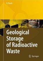 Geological Storage of Highly Radioactive Waste