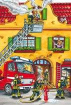 Brandweer en Politie puzzel 2 x 26 stukjes