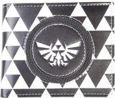 Nintendo Zelda Portemonnee Logo Zwart/Wit