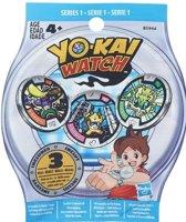 Yo-Kai Watch Medals Blind Bag (Serie 1) verrassingszakje met drie medailles