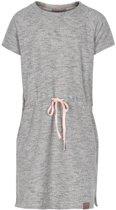 Creamie - sweat jurk - model Heba - light grey melange - Maat 146