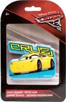 Slammer Disney Cars 3 Reuze Gum Cruz 10 X 6 Cm Geel