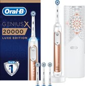 Oral-B Genius X 20000 Luxe Edition Elektrische Tandenborstel - Rosegold